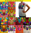 CHRISTMAS Authentic hand made embroidered ladies ethnic blouse Chiapas Mexico #5
