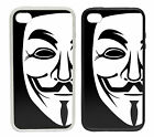 Anonymous Mask Designs - Rubber and Plastic Phone Cover Case