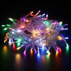 5 10M 50/100 LED Fairy Lights Xms Party String Lighting Indoor Outdoor Decor
