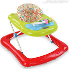 Baby Walker Toddler Musical Activity Play Tray Toy Push Along Foldable Walkers