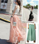 Women's Casual Trousers Dockers Wide leg Loose Chiffon Gauze Pants Long Trousers
