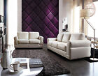 Euro Design Fabric TopGrain Aniline Leather Lounges Sofa Suite 1+2+3 Couches