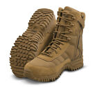 "Altama Vengeance SR 8"" Side-Zip Tactical Boot 2018 Improved version Coyote Brown"
