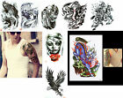 NiX T22 Big Temporary Tattoos Body Art Stickers Waterproof Men Women Girl New