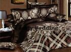 Paisley 3pc Luxury 100% Cotton Duvet Cover set: Cover & Pillowcases (400TC)