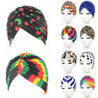 Women Colorful Turban Headwrap Indian Hijab Stretchy Hat Cap Head Band