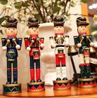 Vintage Christmas Holiday Nutcracker Soldier Wooden German Table Walnut Toy