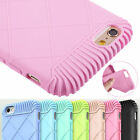 Fit Shockproof Silicone Rubber Soft Bumper Case Cover for iPhone 6 6S 4.7 Plus
