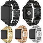 New style Chain Stainless Steel Wristwatch Band Bracelet For Apple Watch 2/1