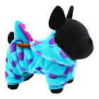 Cute Pet Dog Winter Warm Flannel Hoodie Clothes Cat Puppy Coat Jumpsuit Jacket