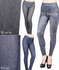 D2D Junior size PROMOTION Rhinestone Stretch Denim 3 Style Footless Leggings