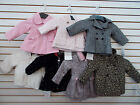 Infant  Toddler Girls Assorted Jackets Size 18 Months - 3T