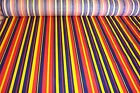 NEW, Hawaii Stripe cloth, fabric, material is very colorful  44 inches wide.