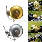 Silver Gold Classic Bike Accessory Retro Bicycle Bell Alarm Metal Handlebar Horn
