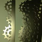 Cogs Gears Clock Works Engine Motor Steam Power Die Cuts