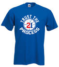 "Joel Embiid Philadelphia 76ers ""Trust The Process"" T-shirt jersey S-5XL on eBay"