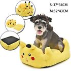 Pet Dog Cat Cushion Kennel Beds Pokemon Pikachu Dog Cat Bed Mat Pad Cushion Beds