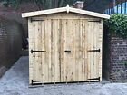 Workshop Garage Tool Store  Shed Heavy Duty Frame 16mm T&G Cladding Tanalised