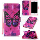 Butterfly Flip Cover Trend PU Leather Card Wallet Stand Case Cover For Phones #H