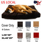 Pet Washable Mat 6 Soft Materials Durable Dog Beds COVER ONLY Do It Yourself Mat