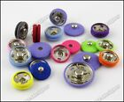Fabric covered Popper Metal Press Snap sew Button Fastener Studs 23mm 10pcs Pick