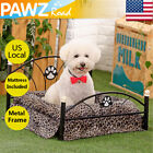 Small Dog Bed Cushion Metal Frame Mattress Pet Upscale Cat Cooling Iron Beds Mat