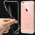 Ultra Thin Transparent Clear TPU Silicone Case Gel Skin Cover For Various Phones