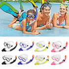 Adult Snorkel Combo Mask And Snorkel Snorkeling Set for Diving Swimming 4 Colour