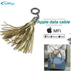 Apple MFi Certified QC3.0 Quick Charger Data Cable Handbag Accessories Keychain