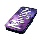 Harry Potter . Designs - Printed Faux Leather Flip Phone Cover Case