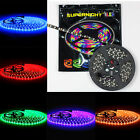 SUPERNIGHT® 5M 3528 / 5050 SMD 300LEDs /150LEDs Light Strip Black PCB ...