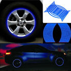 "16 Stripes 17"" Motorcycle Car Bicycle Off-road Wheel Sticker Reflective Rim Tape"