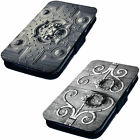 Door Knocker Designs - Printed Faux Leather Flip Phone Cover Case Goth Emo