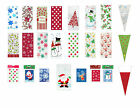 Christmas Cello Bags cellophane Favour Treat Xmas Stocking Sweet Gift Bags
