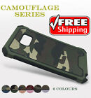 Camo Hybrid Rugged Shockproof Protect Camo Case For Samsung Galaxy S6 Edge Plus