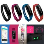 Fitness Activity Tracker Blood Pressure Heart Rate Monitor Wrist Watch Smartband