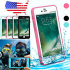 Waterproof LifeProof Shockproof Dirt Touch Hard Case Cover For iPhone 7 7S Plus