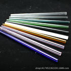New Popular Straight Safety Reusable Glass Drinking Straw Wedding Birthday Décor