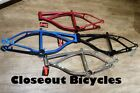 """ANY COLOR! 16"""" LOWRIDER FRAME CRUISER CHOPPER  CYCLING BIKES NEW!"""
