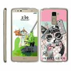 For LG Stylus 2 Plus / Stylo 2 Plus Slim Fitted Clear Flexible Armor TPU Case