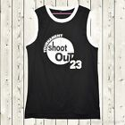 Shoot Out Tournament Basketball Jersey #23 Birdie Above The Rim Stitched Black