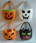 Halloween Children Smile Pumpkin Trick or Treat Kids Candy Bag Cute Handhold Bag