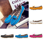 Womens PU Leather Shoes Rubber Sole Non-slip Soft Breathable Casual Shoes 36-40
