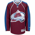 Colorado AVALANCHE Reebok Premier Officially Licensed NHL Jersey,