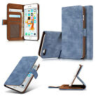 Vintage Wallet Flip Leather Phone Case Stand Cover for iPhone Samsung Galaxy New