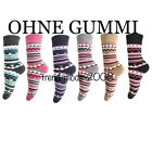 6 Paar Damen Thermo Socken Thermosocke Ohne Gummi Warm Winter Wintersocken 35-42