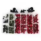CNC Alloy Motorcycle Complete Fairing Bolt Kit Bodywork Screws Nuts For Honda