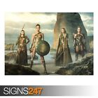 WONDER WOMAN 2017 MOVIE (AB058) MOVIE POSTER - Poster Print Art A0 A1 A2 A3