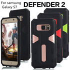 Samsung GALAXY S7 Hybrid Rugged Heavy Duty Shockproof Hard Protective Case Cover