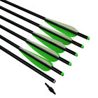 """16"""" - 22"""" Crossbow Bolts Targets Hunting Arrows Archery Ourdoor Aluminum Shafts"""